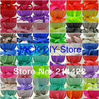 10yards/color Free shipping 54colors  FOE Fold Over Elastic Headband Hair Ties YOU PICK COLORS