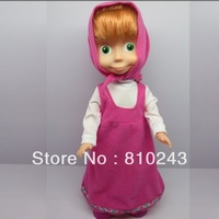 Freeshipping !!!  Dancing Singing Masha Baby Dolls for Girls Child Russia The Gifts Toys for Children Nice Gift new design