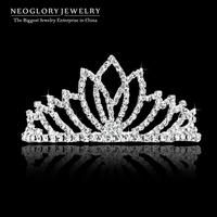 Neoglory Hairwear Tiaras Czech Rhinestone Bridal White Crown for Women 2014 New Arrival Romantic Wedding Jewelry