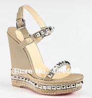new 2013 Fashion Big Size Streamline Woman shoes zappos high heels platforms wedges Sandals sandalias beira rio