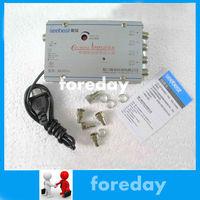 Seebest Signal Amplifier Booster Splitter 4 Way TV VCR Antenna original NEW HDTV Booster Cable TV Signal VHF Video 4 Port*FD046