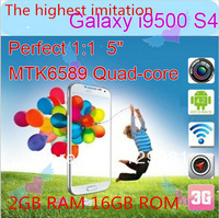 Hot Sell S4 2G RAM/16G ROM  5.0inch Quad-Core CPU 13 Million Autofocus Camera Android 4.2OS Memory Expansion To 32G