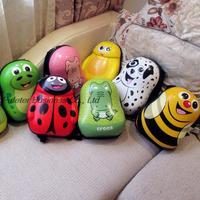 New 2015 children schoolbag ,cartoon backpack nursery children monocoque shell backpack 13 inch