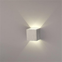 free shipping 2pcs/lot 3W led wall light up and down side/3w led wall lamp 240lumens 2year warranty