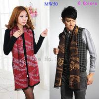 Hot Sale Fashion Viscose Cotton  Man  Woman Wrap  MW50  Free Shippingcarf  Winter Long Warm Music Symbols Outdoor Gift Muffler