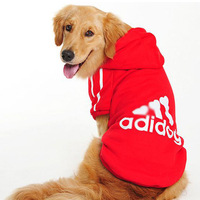 Free Shipping  Lefdy New pet  Dog T-Shirts Sweater clothing for Big dog clothes for large dogs
