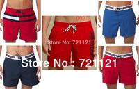 Fashion Cotton Beachwear Board Shorts Man High Surfing Shorts Swimwears Casual Sports Beach Shorts Men Dropshipping Shorts 17PCS