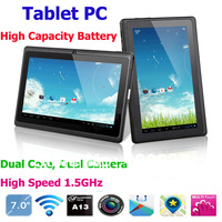 A13 MID 7 inch Capacitive Screen RAM 512M ROM 4GB WIFI Dual Camera android 4.0  Tablet PC