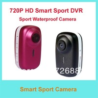Free Shipping Waterproof  720P HD Sport Camera/Smallest HD MINI Sport DV/Mini Recordable Hidden Camera For outside and Divers