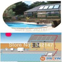 solar swimming pool heating system with SRCC Solar Keymark CE CCC
