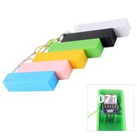 New Portable Mobile Power Bank USB 18650 Battery Charger Key Chain for iPhone MP3 (No Battery)  #46500