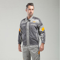 FREE SHIPPING Set of Coat+Pants Chevrolet 4S shop work wear male set spring and autumn tooling uniform