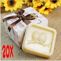 Home Party Favor Personality Wedding Favors Owl Soap Gift Boxed For Wedding Favours Bomboniere Baby Shower Favour