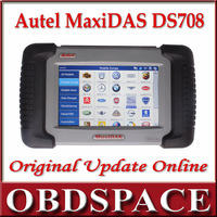 2014 Original Autel MaxiDAS DS708 Automotive Diagnostic System Full Package DS 708  Get Mini ELM 327 As a gift DHL Free Shipping