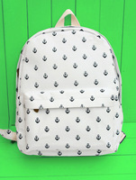 Backpack 2014 printing backpack women student school bag