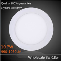Full power 9w 990-1050lm led panel light 9W 12w 15w 18w Led Ceiling Downlight bulb 110v 220v 240v Led lighting 20pcs wholesale
