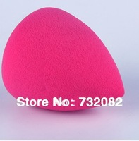 Whoesale 10pcs/lot Pro Makeup Sponge Blender Flawless Smooth Shaped Cosmetic Water Droplets Puff E2452-drop rose