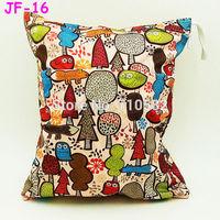23 New Designs Double Zippers 5pcs/lot Cartoon Animal Waterproof Multifunctional Fashion Maternity Baby Enfant Diaper Wet Bag