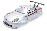 rc prts shell body Nissan 350Z Echelle 1/10 rc car body shell 190mm   free shipping