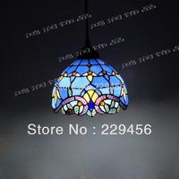 Tiffany Pendant Light Baroque European Style Stained Glass Lampshade Bedroom Home Decor Lighting E27 110-240V