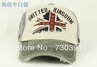 Free shipping New Coming Fashion Unisex Cowboy Vintage Brown Baseball Hat Cap Hot Saling Hats