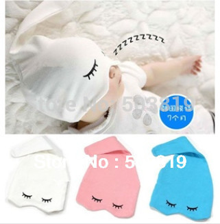 Free Shipping Infant Sleeping Hat,New designed  Baby Boy/Girls Cap/ Beanies, Korean Skullies & Beanies For baby 0-12Month