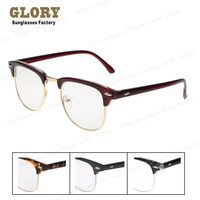 Free Shipping New 2013 Hot Selling Designer Elegan Semi Rim Optical Eyegalsses  Men Women 80's Vintage Glasses For Girls Oculos