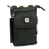 Nylon Zipper Passport Waist Bag for Men Travel Bags Fanny Pack Money Belt Bag Waist Pack Shoulder Hip Bag Mobile Phone Pouch