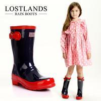 New 2014 Brand Shoes Kids Children Rain Boots Girls Shoes Rainboots Environment-Friendly Rubber Boots Children Shoes Chuteira