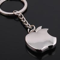 2014 novelty items Men Jewelry Car Keychain Souvenir Metal Apple Key Chain Women key Ring Key Holder Trinket wholesale chaveiro