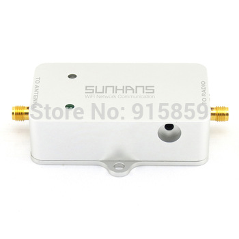 Direct Marketing Sunhans Wifi Repeater 802.11A/N 5.8GHz 2000mW Signal Booster Amplifier with certificate CE Free Drop Shipping