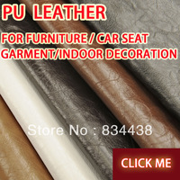 Hot sale Pu oil waxing artificial leather fabric for furniture faux fabric sofa decoration accessories leather for car seats