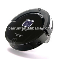 (Free To Australia) Newest Intelligent Cleaning Vacuum Robot LCD Screen,Touch Button,Schedule,Virtual Wall,Self Charging