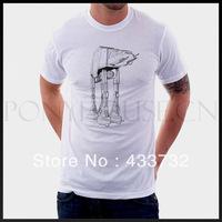 Star wars atat mens t shirtsT-shirt / mens short-sleeve   sport t shirt