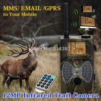 HD 1080P Wildlife animal Cameras Scouting Cameras GPRS MMS with remote Control  FREE SHIP