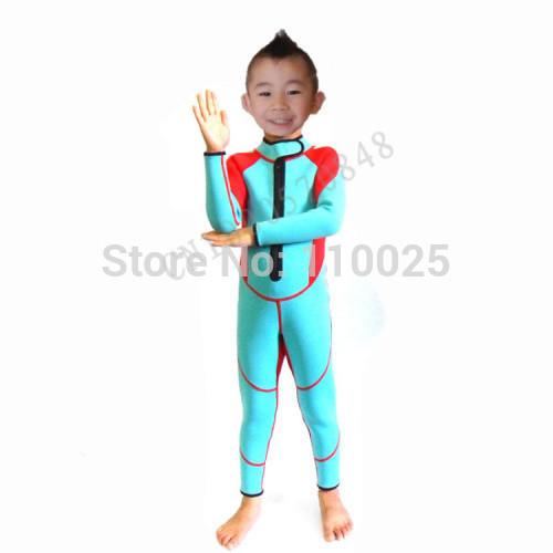 Mergulho de neoprene terno crianças terno molhado 2,5 milímetros 3.4.5At a idade de REC -658