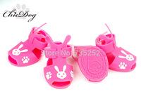 free shipping Rabbit jelly pet sandals dog sandals pet shoes dog shoes teddy shoes chihuahua footwear outdoor waterproof bulldog