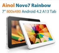 Ainol Novo7 Rainbow 7 inch Capacitive Allwinner A13 CPU Android 4.2 Tablet PC Free Shipping
