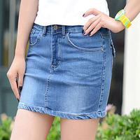 Brand new summer denim skirt jeans short skirt fashion 2015 new