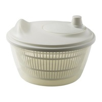 1 piece white color plastic salad spinner