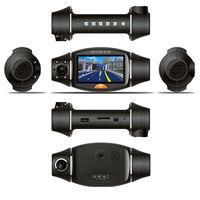 "GPS car dvr Dual lens camera recorder 2.7"" LCD DVR Video Dashboard vehicle Cam-Melina"