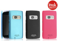 Free shipping! IMAK Ultrathin matte color (including screen protector), high quality mobile phone case for Nokia 801T