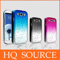Water Drop Dripping Gradual change Ultra Thin Hard Cover case for samsung galaxy i9500 s4/ n7100 note 2/ i9300 s3