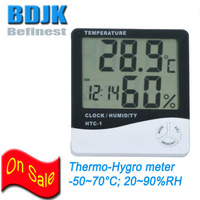 In-Outdoor Digital Hygrometer and Thermometer with Sensor Wire Humidity & Temperature Measuring Instruments