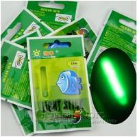 4.5*37MM Big Size Visual Range 30M Fishing Float Light Stick Chemical Night Lights Glow Sticks 25packs(125pcs) GT215