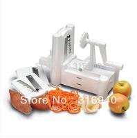 Fruit Garnish Cutter Peeler Spiral Fruits Vegetable Curly Slicer Kitchen Tools E384 FREE SHIPPING