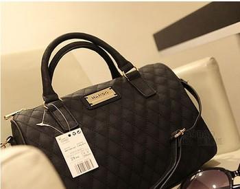 2013 Fashion designer handbag Mng plaid For women's Shoulder/Messenger handbag mango black plaid bucket handbag dimond/brand bag