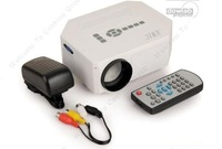 Free Shipping!!Portable Multimedia LED Projector Home Cinema Theater Support AV VGA USB SD HDMI