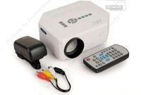Free Shipping!!Portable Multimedia LED Projector Home Cinema Theater Support AV VGA USB SD HDMI
