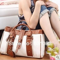 Korean Style fashion bag women handbag PU leather Handbag woman Shoulder bags white for shopping bag